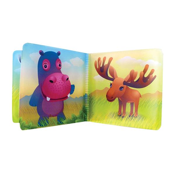 ספר אמבטיה חיות בר