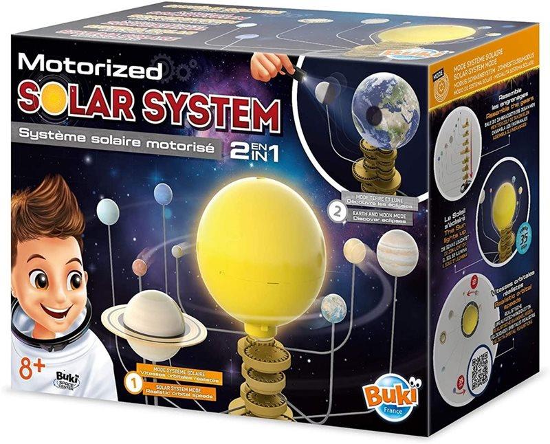 מערכת השמש (סולארית) שולחנית מסתובבת