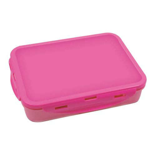 קופסת אוכל טאץ מחולקת עם קליפסים